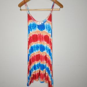 NWOT Buddy Basics Tie Dye Cami Dress